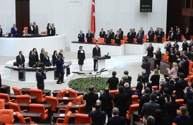 Cumhurun reisi Erdoğan yemin etti 12