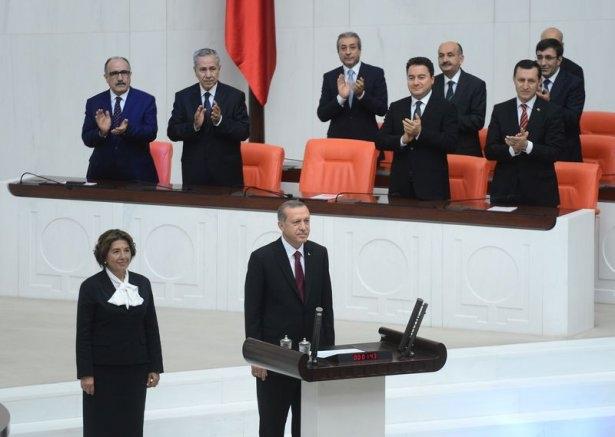 Cumhurun reisi Erdoğan yemin etti 13