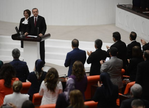 Cumhurun reisi Erdoğan yemin etti 14