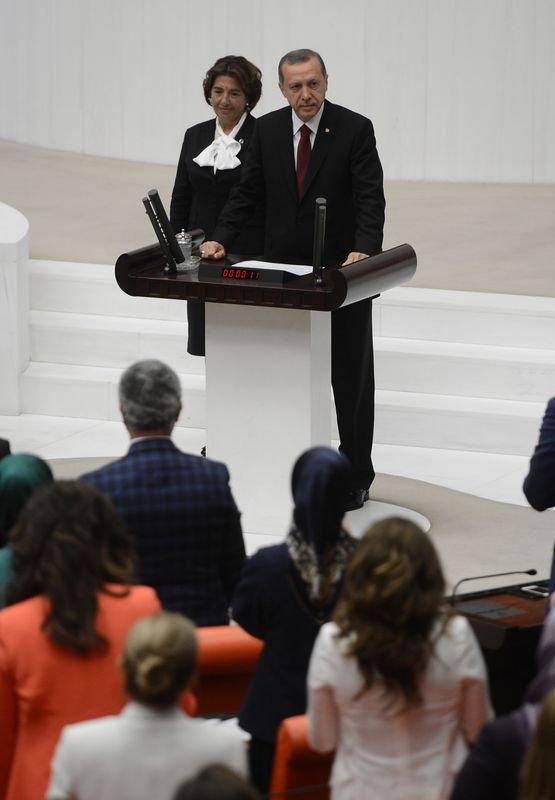 Cumhurun reisi Erdoğan yemin etti 15