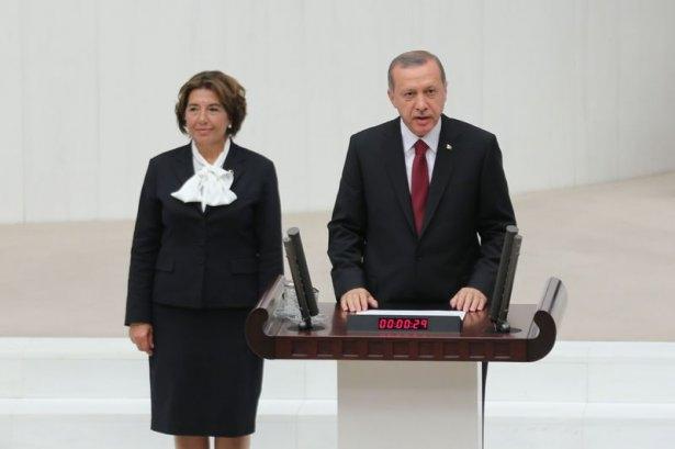 Cumhurun reisi Erdoğan yemin etti 16