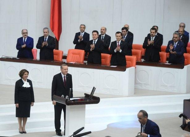 Cumhurun reisi Erdoğan yemin etti 18