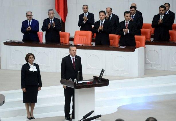 Cumhurun reisi Erdoğan yemin etti 19