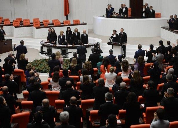 Cumhurun reisi Erdoğan yemin etti 22