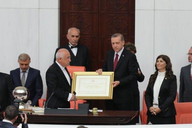Cumhurun reisi Erdoğan yemin etti 7