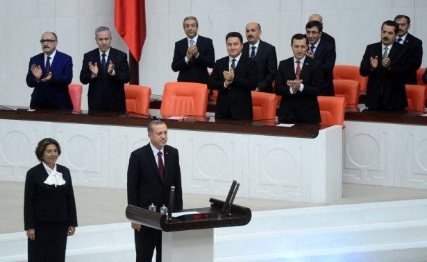 Cumhurun reisi Erdoğan yemin etti 9