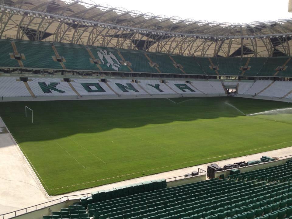 Yeni stadın otoparkı da tamamlandı 5