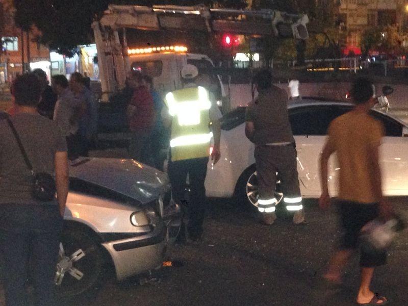 Konya'da Trafik Felç Oldu 1