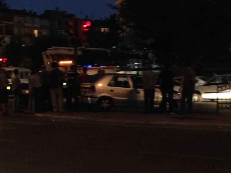 Konya'da Trafik Felç Oldu 3