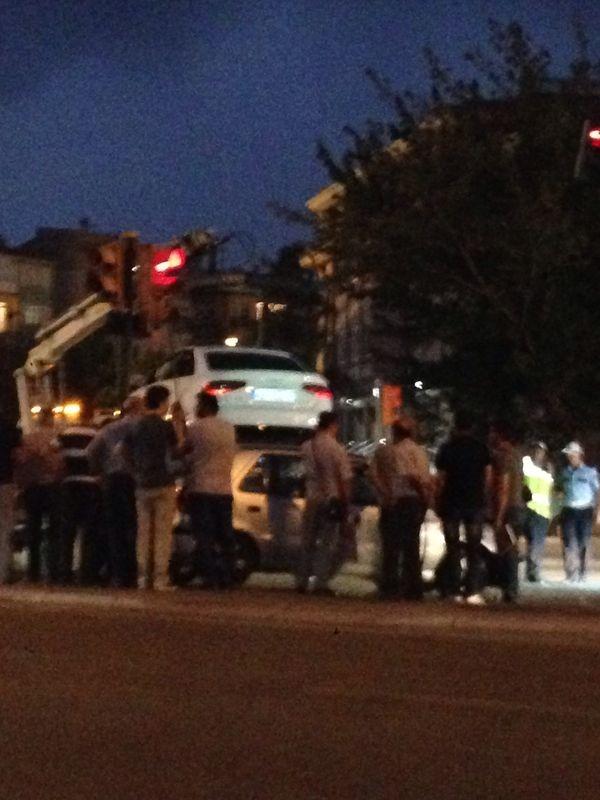 Konya'da Trafik Felç Oldu 7