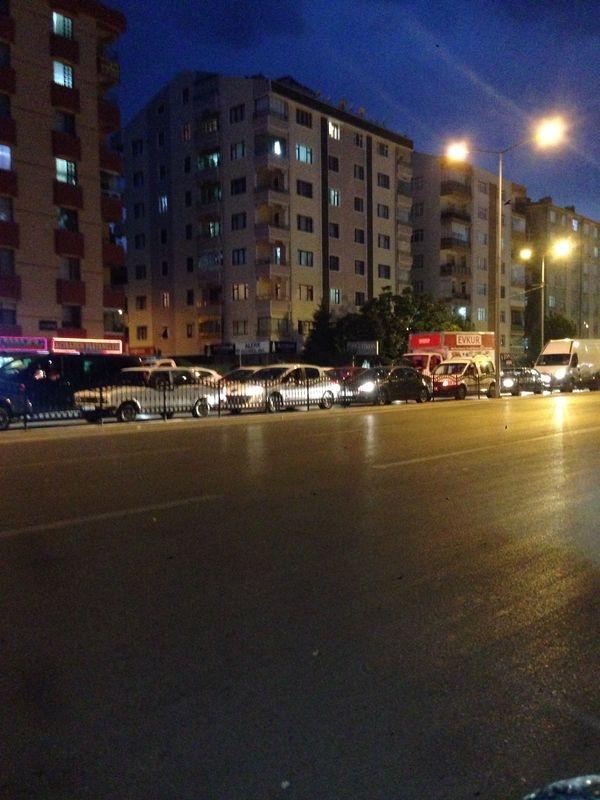 Konya'da Trafik Felç Oldu 9