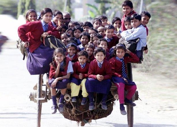 Dünyanın en tehlikeli okul yolları 19