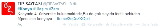 Ulaşım zammına twitter'dan tepki 11