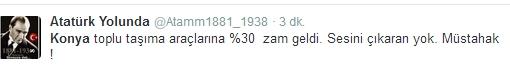 Ulaşım zammına twitter'dan tepki 15