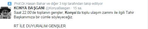 Ulaşım zammına twitter'dan tepki 27