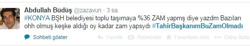 Ulaşım zammına twitter'dan tepki 32