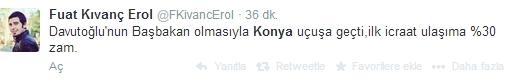 Ulaşım zammına twitter'dan tepki 4