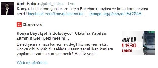 Ulaşım zammına twitter'dan tepki 5