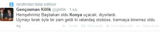 Ulaşım zammına twitter'dan tepki 6
