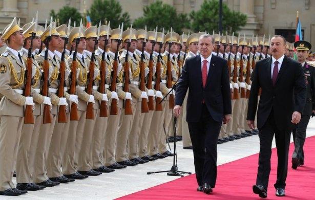 Erdoğan'ın ziyareti Azerbaycan basınında 12