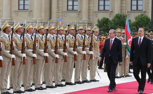 Erdoğan'ın ziyareti Azerbaycan basınında 15