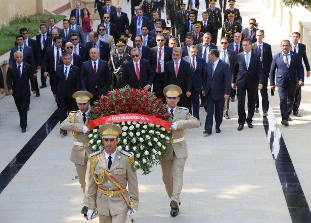 Erdoğan'ın ziyareti Azerbaycan basınında 23
