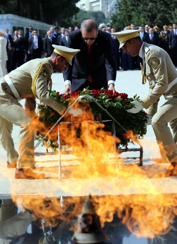 Erdoğan'ın ziyareti Azerbaycan basınında 24