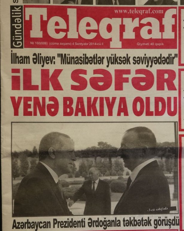 Erdoğan'ın ziyareti Azerbaycan basınında 3