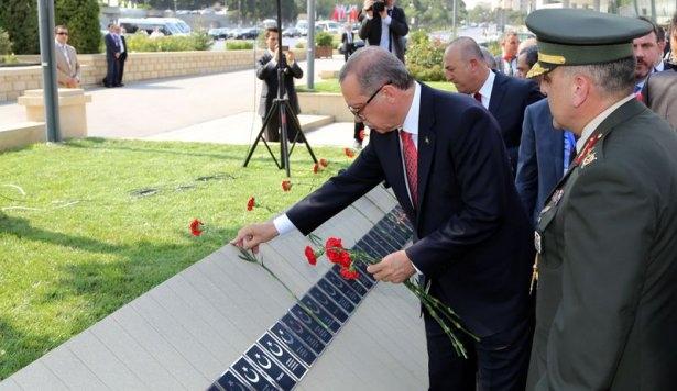 Erdoğan'ın ziyareti Azerbaycan basınında 30