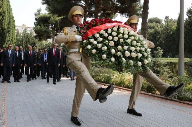 Erdoğan'ın ziyareti Azerbaycan basınında 34