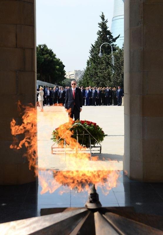 Erdoğan'ın ziyareti Azerbaycan basınında 36