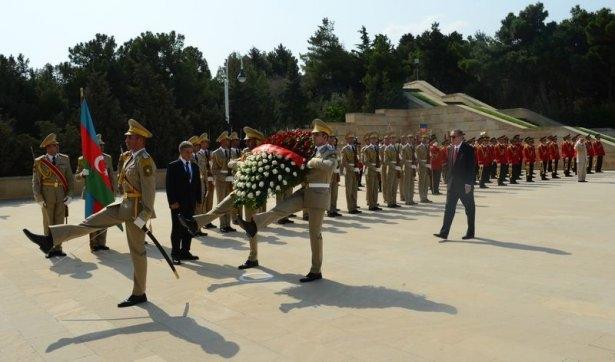Erdoğan'ın ziyareti Azerbaycan basınında 43