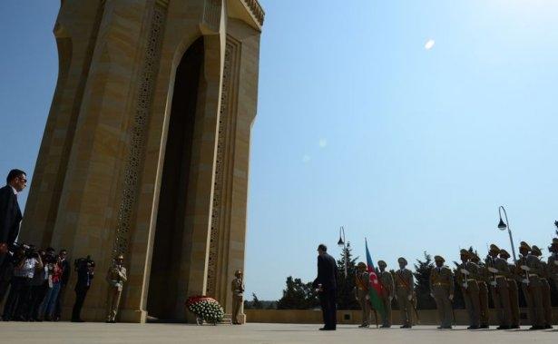 Erdoğan'ın ziyareti Azerbaycan basınında 45