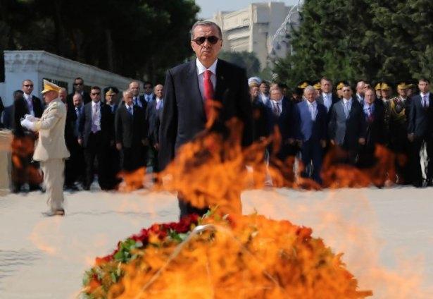 Erdoğan'ın ziyareti Azerbaycan basınında 47