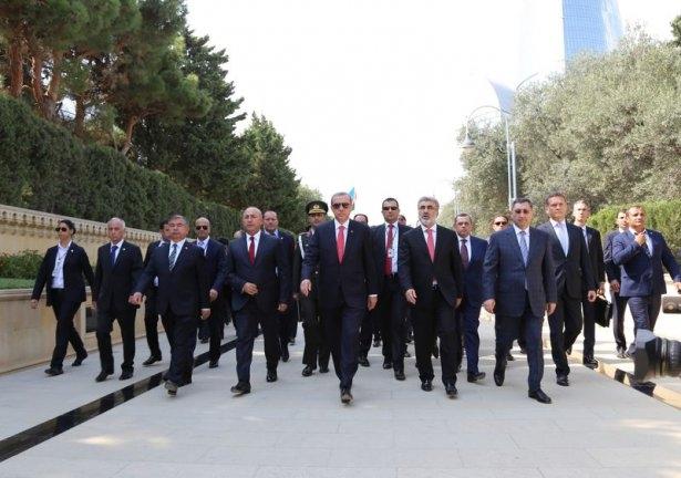 Erdoğan'ın ziyareti Azerbaycan basınında 48