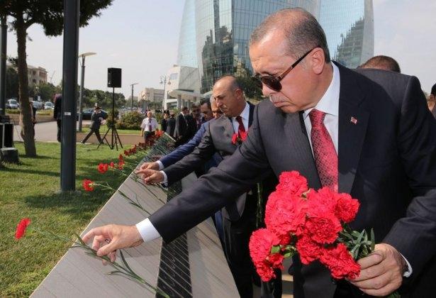 Erdoğan'ın ziyareti Azerbaycan basınında 49