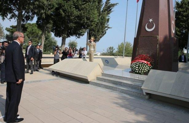 Erdoğan'ın ziyareti Azerbaycan basınında 51