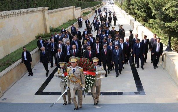 Erdoğan'ın ziyareti Azerbaycan basınında 52