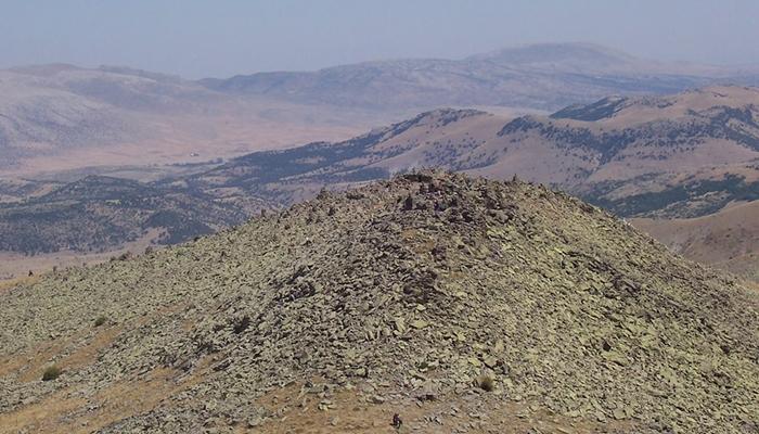 Konya'nın kutsal dağı keşfedilmeyi bekliyor 12
