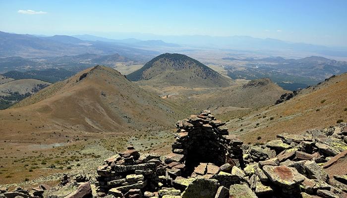 Konya'nın kutsal dağı keşfedilmeyi bekliyor 23
