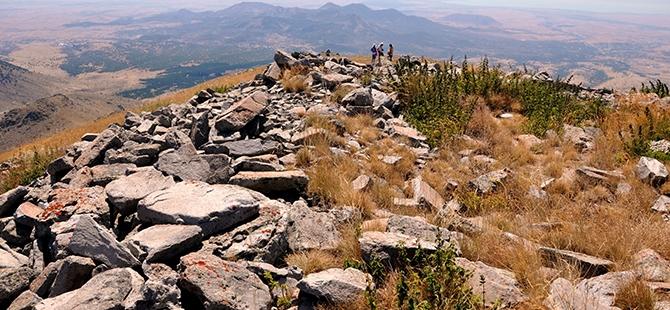 Konya'nın kutsal dağı keşfedilmeyi bekliyor 6