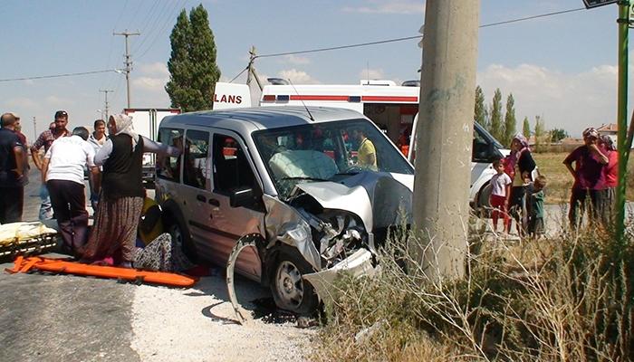 Konya Ereğli'de trafik kazası 3 yaralı 3