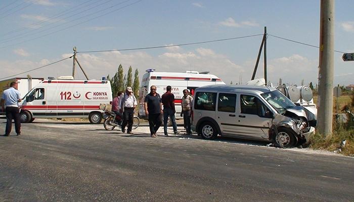 Konya Ereğli'de trafik kazası 3 yaralı 6
