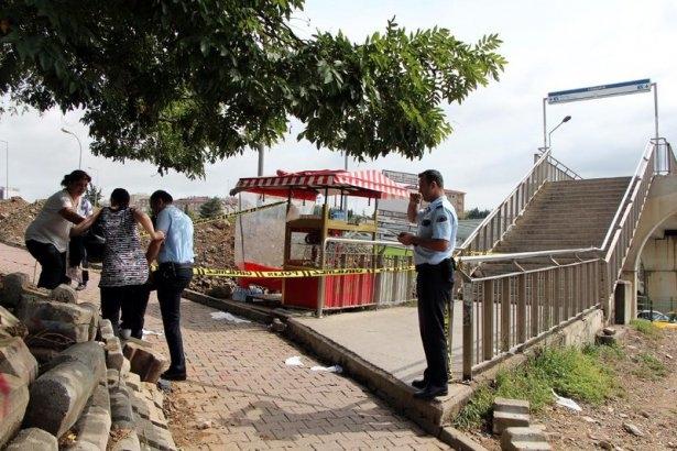 Metrobüs üst geçidinde silahlı saldırı 2