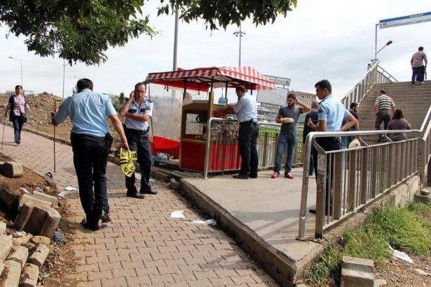 Metrobüs üst geçidinde silahlı saldırı 8
