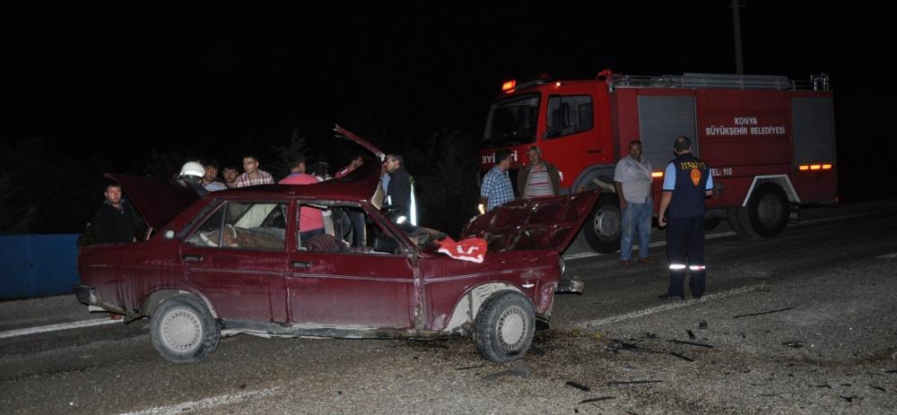 Otomobile çarptı, kazalı araçla kaçtı 5