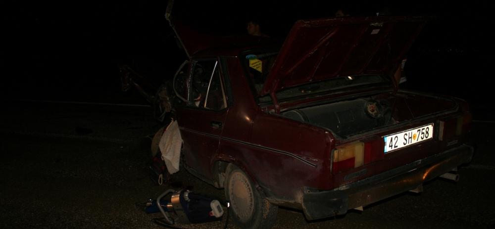 Otomobile çarptı, kazalı araçla kaçtı 8