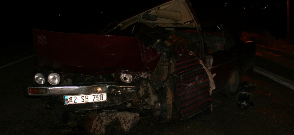 Otomobile çarptı, kazalı araçla kaçtı 9