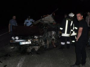 Otomobile çarptı, kazalı araçla kaçtı