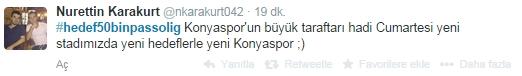 #konyasporicin50binpassolig 1